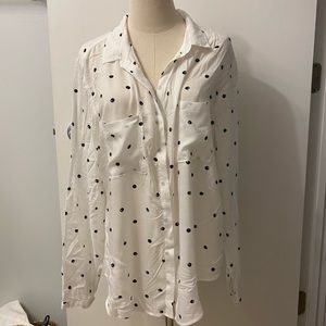 Anthropologie cloth & stone long sleeve blouse